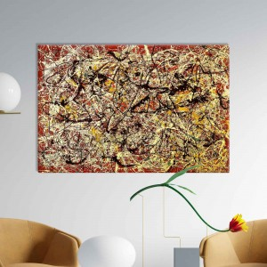 Jackson Pollock - Mural on Indian Red Ground
