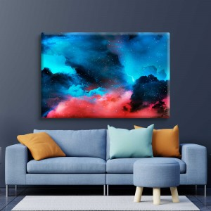 Clouds with stars