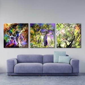 3 seasons multi panel canvas