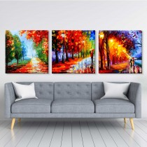 Autumn abstract multipiece