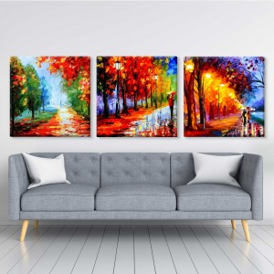 Autumn abstract multipiece