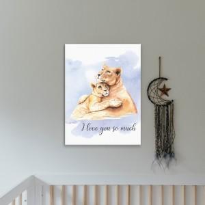 Lejonporträtt