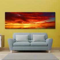 Päikeseloojangu panoraam