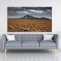 Tundra und Berge