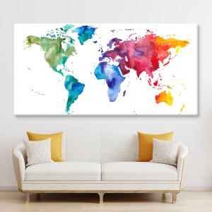 Pasaules kartes abstrakts