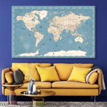 Senlaicīgā pasaules karte