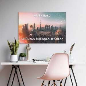 Arbeta hårt Dubai