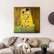 Gustavas Klimtas – Bučinys