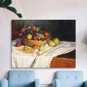 Claude Monet - Obuoliai ir vynuogės