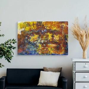 Claude Monet - Die Japanische Fußgängerbrücke
