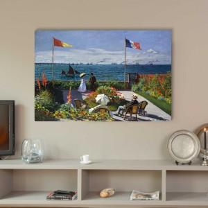 Claude Monet - Garden at Sainte-Adresse