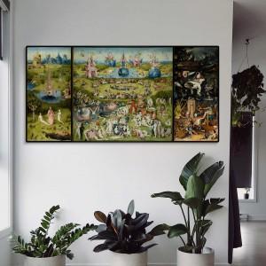Hieronymus Bosch - Ankstyvų malonumų sodas