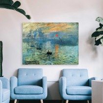 Claude Monet - Impresionizmas Saulėtekis