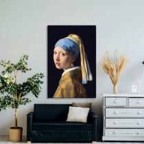 Vermeer - Mergina su Perlų Auskarais