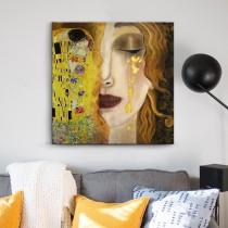 Gustav Klimt - Freya's tears