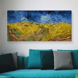 Vincent van Gogh -Weizenfeld mit Krähen