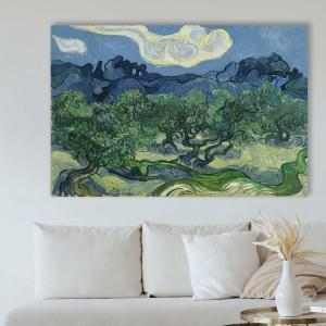 Винсент Ван Гог - Оливковые деревья