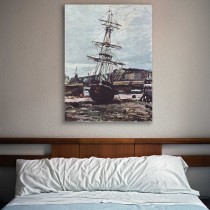 Клод Моне - Заброшенная лодка