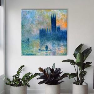 Claude Monet - Parlamento rūmai