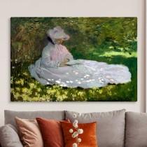 Claude Monet - Springtime