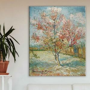 Vinsents van Gogs - Rozā persiku koki