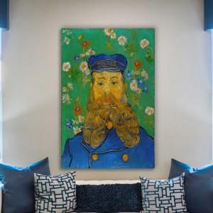 Vincent van Gogh - Joseph Roulin portretas