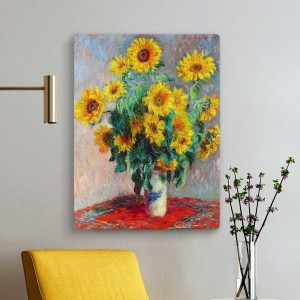 Claude Monet - Saulėgrąžos