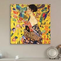 Gustav Klimt - Woman with a Fan