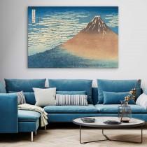 Katsushika Hokusai - kolmkümmend kuus vaadet Fuji mäele Selge ilm koos lõunatuulega