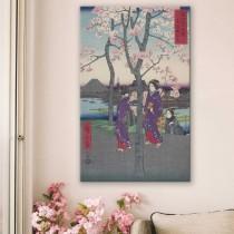 Hiroshige - Sumida muldkeha idapealinnas
