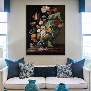 Rachel Ruysch - Natiurmortas su gėlėmis