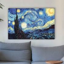 Vincentas van Gogas - žvaigždėta naktis