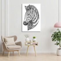 Spalvojanti zebra