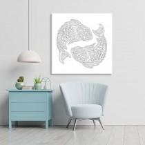 Krāsojamās zodiaka zivis