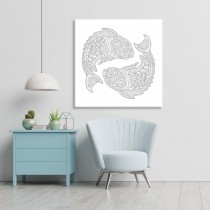 Spalvoti zodiako žuvis