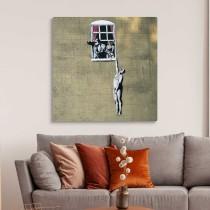Banksy - Nuoga meilužė