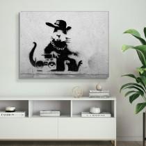 Banksy - Žiurkė