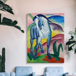 Francis Marks - Zilais zirgs