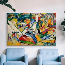 Vasilijs Kandinskis - Otrās kompozīcijas skice