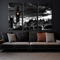 Big Ben multi canvas tavla