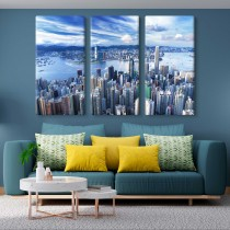 Hong Kong multi canvas tavla