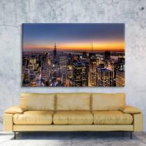 New Yorgi päikeseloojang
