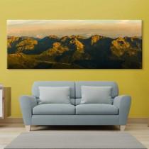 Päikeseloojang mägedes