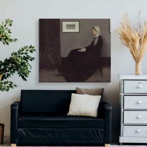 James Abbott McNeill Whistler - Porträt der Mutter des Künstlers