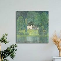 Gustav Klimt -  Litzlberg vid sjön Attersee