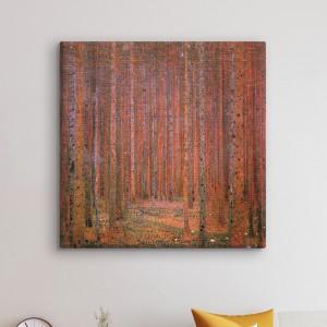 Gustavs Klimts - Egļu mežs I