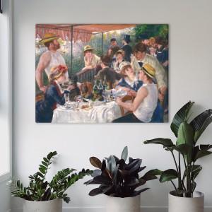 Pierre-Auguste Renoir - Valčių vakarėlio pietūs