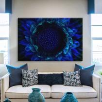 Die blaue Sonnenblume